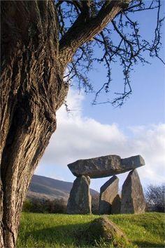 Irish countryside, Ballykeel dolmen | 10 Beautiful Places in Ireland
