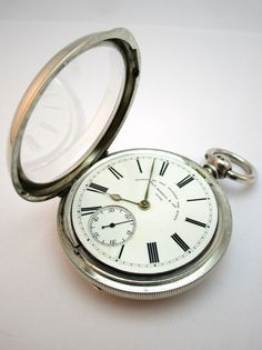how to open a pocket watch case