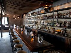 BAR Meet Churchill, a gorgeous, throwback cocktail bar opening tomorrow night at 198 Church Street. What a delight! Bar Interior, Modern Interior Design, Interior And Exterior, Interior Decorating, San Francisco Bars, Bar Design Awards, Small Bars, Vintage Bar, Cool Bars