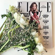 Thank you for the lovely flowers @louisvuitton #ellenorge #mirandakerr #louisvuitton  via ELLE NORWAY MAGAZINE OFFICIAL INSTAGRAM - Fashion Campaigns  Haute Couture  Advertising  Editorial Photography  Magazine Cover Designs  Supermodels  Runway Models