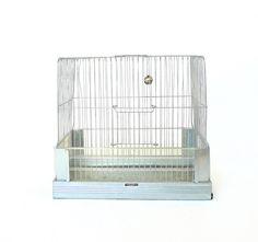 Vintage MidCentury Hendryx Bird Cage by marybethhale