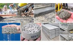 25 Types Of Concrete Used In Construction Work - Daily Civil Types Of Concrete, Mix Concrete, Precast Concrete, Concrete Structure, Reinforced Concrete, Cement, Pervious Concrete, High Strength Concrete, Mixed Fiber