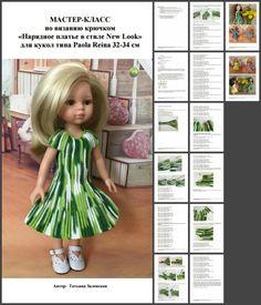 pletací typu háček panenky Paola Reina 32-34 cm Workshopy / školící materiály, semináře / Shopik. Prodat koupit panenku / Beybiki. Foto panenky. Oblečení pro panenky