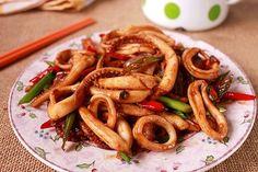Xuýt xoa món mực xào chua cay làm dễ ăn ngon 11