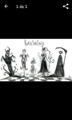If Tim Burton drew Black Butler