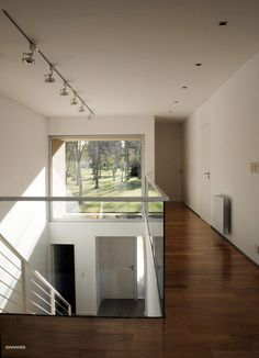 Completed in 2008 in Tandil, Argentina. A corner lot in the best area of April country club, located in what was once the area's original ranch house, retaining old trees that gave, in. Commercial Architecture, Modern Architecture, Ground Floor Plan, Patio, Floor Plans, Stairs, Interior Design, The Originals, Gallery
