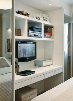 also nice....both, a solution for a home office and a beauty spot!
