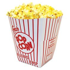 Gold Medal Popcorn Boxes 55 oz 200 ct -- Check this awesome product by going to the link at the image. (This is an affiliate link) Popcorn Tub, Popcorn Seeds, Popcorn Maker, Popcorn Boxes, Gold Medal Popcorn, Dive In Movie, Popcorn Packaging, Food, Movies