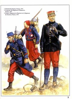 Uniforme frances de la primera guerra mundial