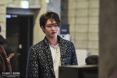 """[Star cast] of BtoB Changsub back with a new look """"NEW MEN"""" behind jacket shoot! Naver Entertainment: TV"""