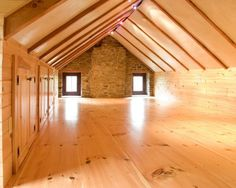 How would you redo an attic?