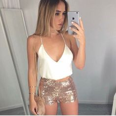 Simple Summer to Spring Outfits to Try in 2019 – Prettyinso Short Outfits, Sexy Outfits, Casual Outfits, Cute Outfits, Fashion Outfits, Casual Dresses, Clubbing Outfits, Night Outfits, Summer Outfits