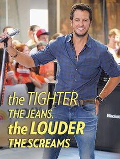 "IT""S TRUE ESPECIALLY WITH LUKE BRYAN"
