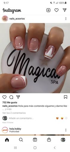 Dream Nails, Dali, Study, Beauty, Frases, Templates, Short Nail Manicure, Studio, Studying