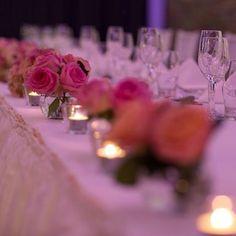 Instagram photo by waterviewvenue - The bridal table #waterviewbp #waterview #waterviewvenue #weddingreception #sydneyolympicpark #bicentenn...
