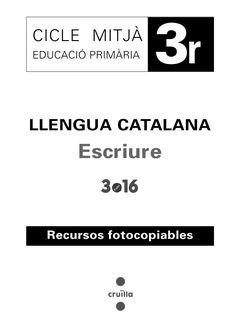 Cuaderno ejercicios de lengua 3r ep, catalán Catalan Language, Language Lessons, Spanish Classroom, Math For Kids, Writing Activities, Valencia, Teacher, Songs, Education