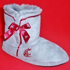 ❤ Love my WSU Slippers! ❤