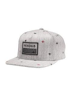 Waves 110 Snap Back Hat - Flash Dot   Nixon Men's Hats