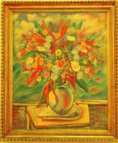 DSC_0051.NEF - Obra: vaso com flores, de Alberto da Veiga guignard,1935, Rio de janeiro, Brasil.