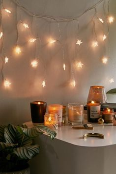 Shop Star Curtain String Lights at Urban Outfitters today. We carry all the latest styles, colors and brands for you to choose from right here. Bedroom Lighting, Bedroom Decor, Star Bedroom, Bedroom Ideas, Star String Lights, Star Lights, Cute Room Decor, Curtain Lights, Dream Rooms