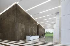 郑州IFC(国际金融中心)B 室内办公空间设计公司