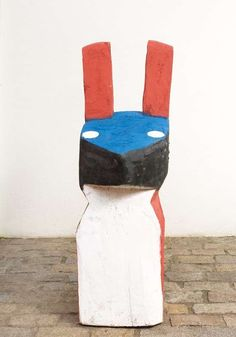 Arte Popular do Brasil: Véio.   Véio, título desconhecido, madeira policromada. Reprodução fotográfica Galeria Estação, São Paulo, SP. Foto: Germana Monte-Mór©