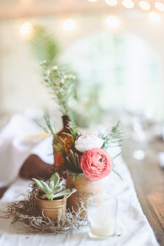Rustic Woodland Wedding at Juliane James Place  Read more - http://www.stylemepretty.com/2014/03/05/rustic-woodland-wedding-at-juliane-james-place/