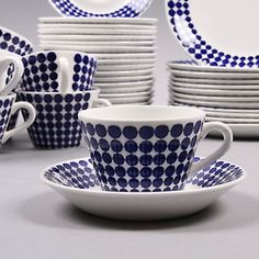 Adam porcelain by Swedish Stig Lindberg for Gustavsbergs Porcelainfactory.