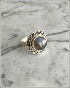 Labradorita Ring