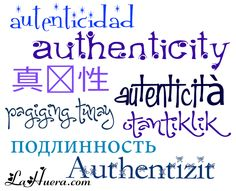 Languages of the World - Authenticity