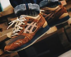 Chubster favourite ! - Coup de cœur du Chubster ! - shoes for men - chaussures pour homme - sneakers - boots - Asics Gel Lyte 3 Carhartt