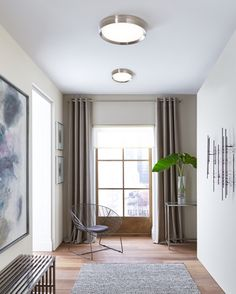 Flush mount lighting 27 awesome pics interiordesignshome clearly ceiling lighting sophisticated yet simple the bespin flush mount ceiling light from tech lighting features a smoothly diffused led light housed within a aloadofball Choice Image