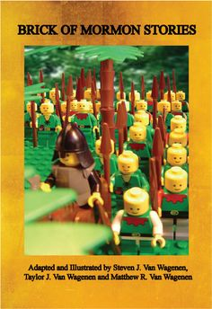 Brick of Mormon Stories is a compilation of twenty-six abridged stories from the Book of Mormon. The 224-page book contains over 115 full-color illustrations using LEGO™ bricks and characters. Each story segment includes a short synopsis, followed by referenced verses from the Book of Mormon.