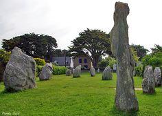 Alignements de menhirs de Kerbourgnec - Quiberon, Bretagne