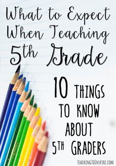 If you are new to teaching 5th grade or thinking about teaching 5th grade, here…