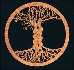 Celtic tree ASH and ELM
