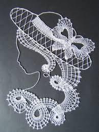 Imagen relacionada Silk Ribbon Embroidery, Embroidery Stitches, Irish Crochet, Free Crochet, Lace Patterns, Crochet Patterns, Bobbin Lacemaking, Lace Art, Tatting Lace