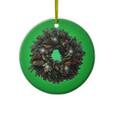 Hang Wreath ornaments from Zazzle on your tree this holiday season. Holiday Gifts, Christmas Gifts, Holiday Decor, Christmas Wreaths, Christmas Decorations, Christmas Ornaments, Holiday Traditions, Ornament Wreath, Twinkle Twinkle