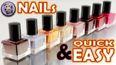 Hello, Today's video is about how fast and easy to edit your nails. On my video, you can find perfectly tips and tricks like a nail. Nail Tutorials, Diy Nails, Nail Polish, Easy, Youtube, Nail Polishes, Polish, Nail Art Tutorials, Youtubers