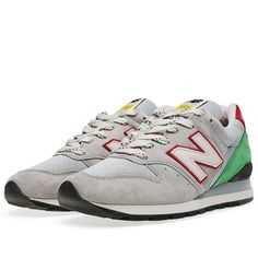 New Balance (NB) 'National Parks' - Made In The USA Grijs Groen Sneakers  Heren,Fashion trainers will give you special comfort feel ,Never forget it .