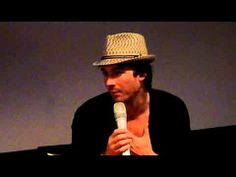 Ian Somerhalder Convention Vampire Diaries Welcome to Mystic Falls Paris May 2011 Q&A Part 1