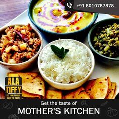 There is nothing better than magic of mother's hand and we at Alatiffy.com make sure that you get the taste of your mother's kitchen every time you book Tiffin from us. Call us at 8010787878 to order now. #Lunch #Dinner #Homemade #Special #HomeFood #HealthyFood #TastyFood #Alatiffy