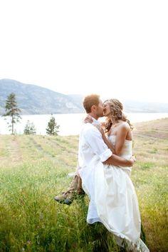 Country Wedding photo.