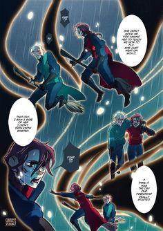 Amortentia, a Scorpius / Rose comic : page III / VI