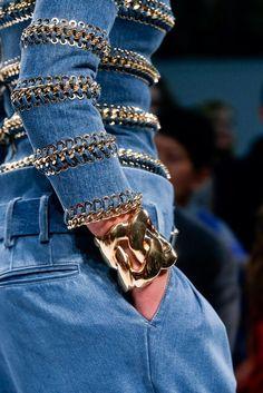 Detailed Denim Jacket #denim #fashion