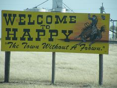 ♥ Happy TX ~ yes, it's a town (& close to my hometown) ~ Spent many 'happy' times near there at a church convention when growing up.