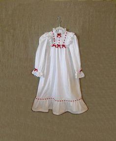 custom girls nightgown white christmas by girlsgonegirlie on etsy christmas pajamas christmas holidays white