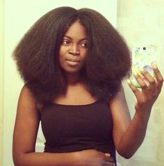Transitioning Hair 4a/4b | INSPIRATION CAPILLAIRE] Cheveux crépus frisés longs - Tori