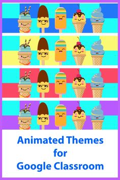 Decorate your Google Classroom with an animated theme! Online Classroom, Classroom Decor, Free Education, Google Classroom, Educational Technology, Headers, Animation, Learning, Fun
