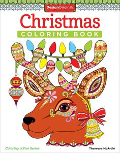 Thaneeya McArdles Coloring Books Are So Cute Design Originals Christmas Book Is Fun